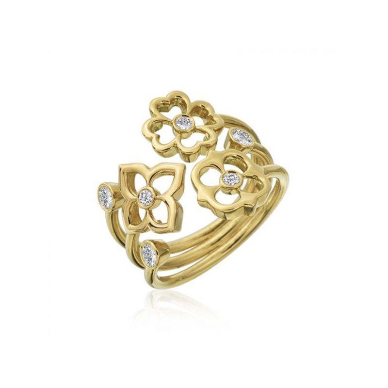 Gumuchian G Boutique Trio Diamond Ring
