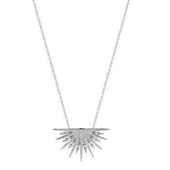 Petite 1/2 Starburst Necklace