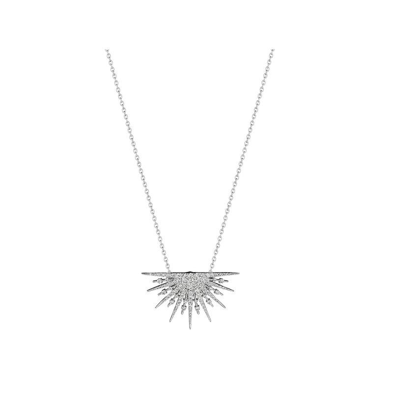 Penny Preville Petite 1/2 Starburst Necklace