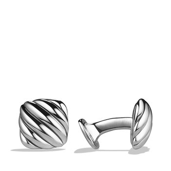 Cable Cushion Cuff Links