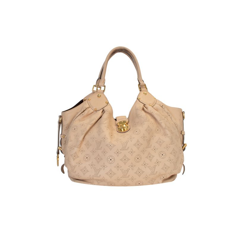 Louis Vuitton XL Mahina Monogram Hobo Bag