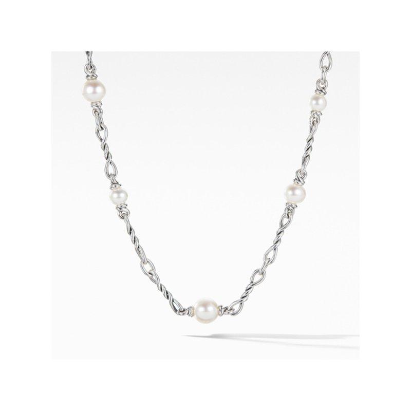 David Yurman Continuance Pearl Small Chain Necklace