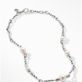 Continuance Pearl Small Chain Necklace
