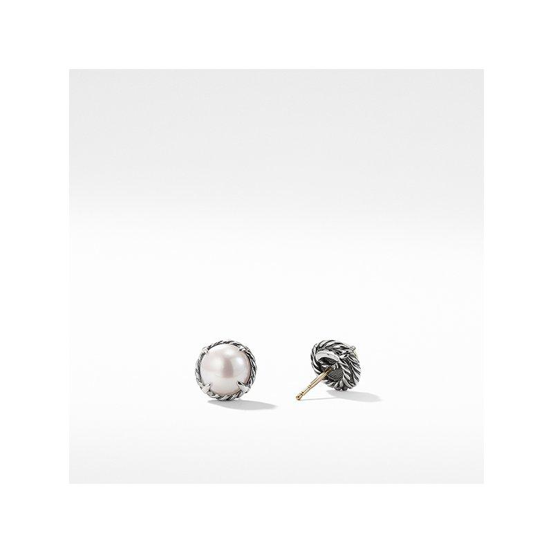 David Yurman Earrings with Pearl