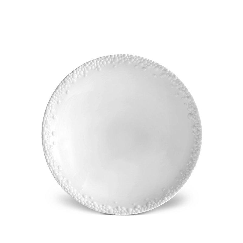 L' Objet Haas Mojave White Soup Plate