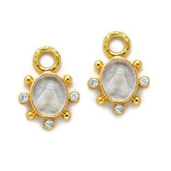"""Crystal """"Mosca"""" Earring Pendants"""