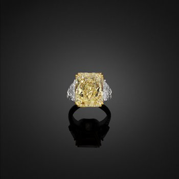 14.02ct Cushion. GIA Certified.