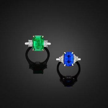 Emerald and Sapphire