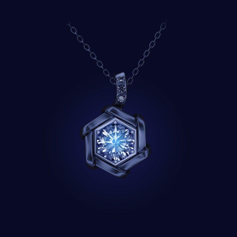 Luminous Diamonds® Lucent Pendant .42ctw