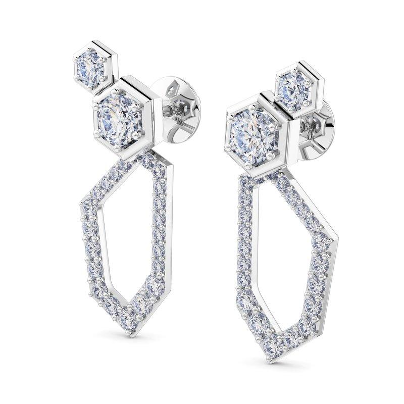 Luminous Diamonds® Inner Glow Earrings