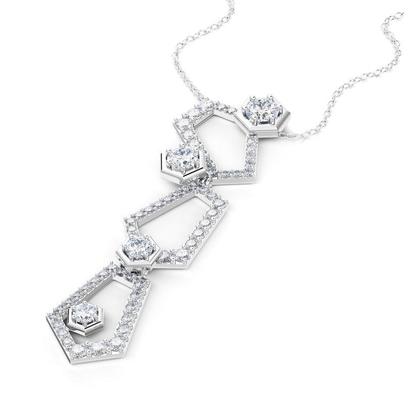 Luminous Diamonds Be Inspired Pendant