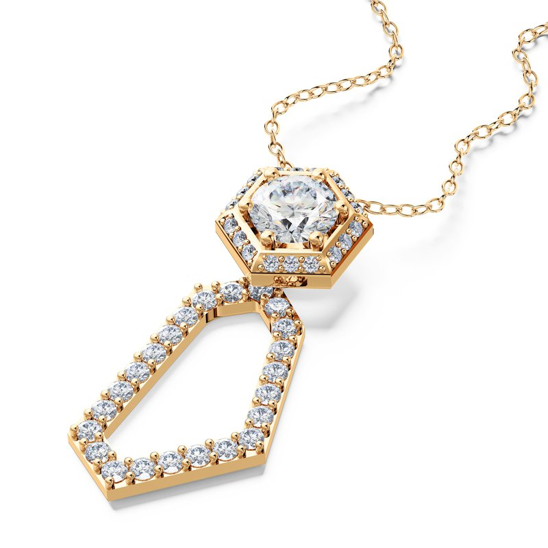 Luminous Diamonds® Be Bold Pendant