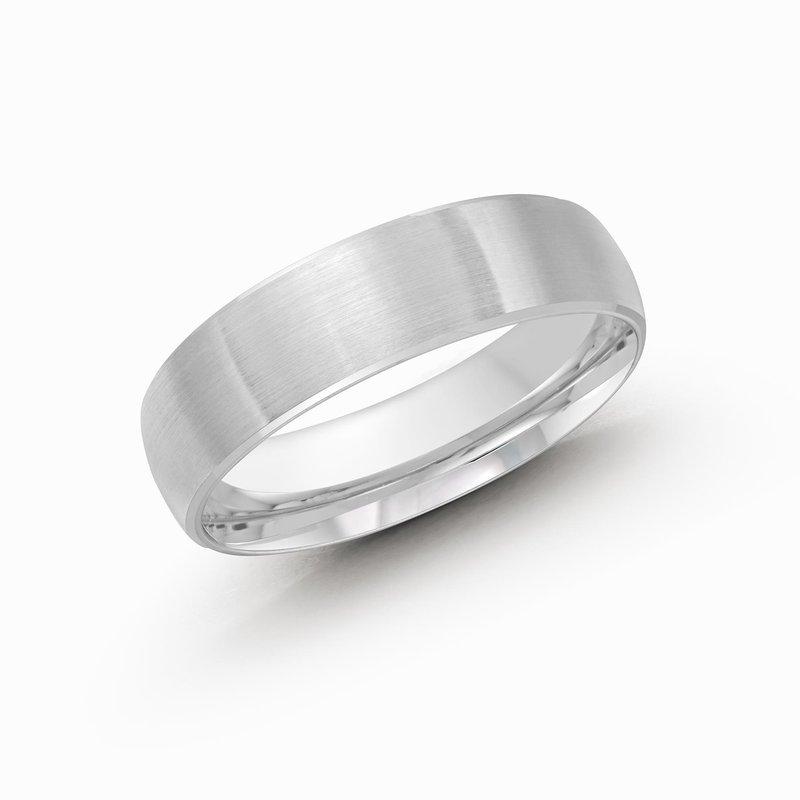MALO Men's Cobalt Ring Satin Finish