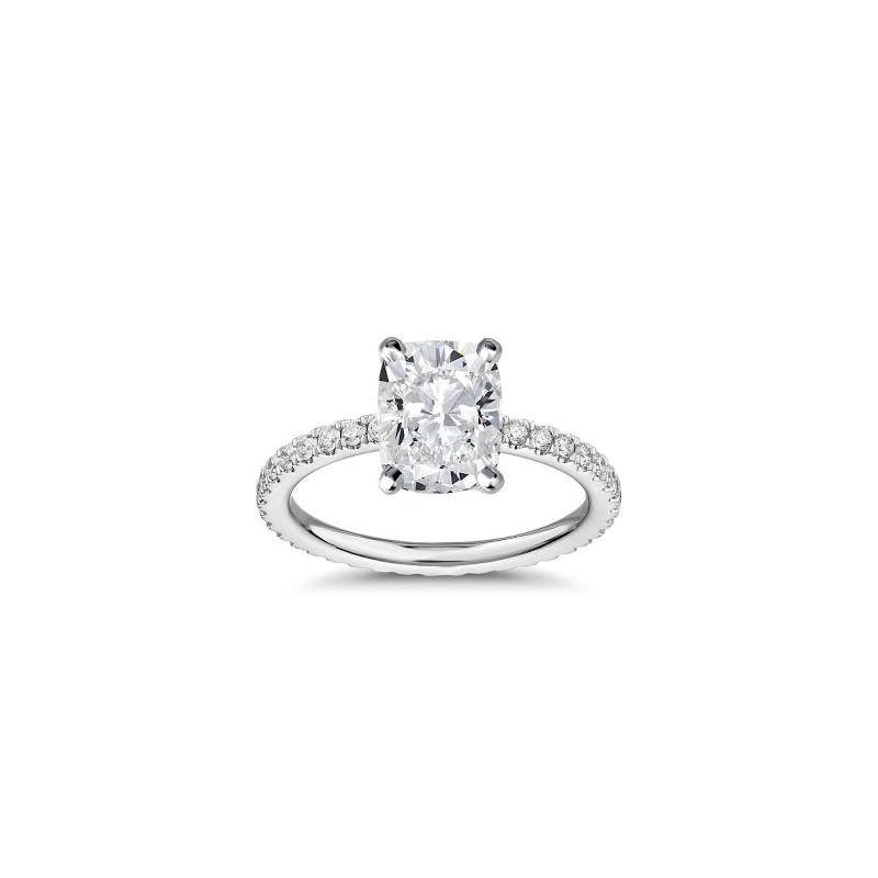 SOLD! - 14k White Gold 1.32 carat Mann Made® Lab Grown Diamond Included