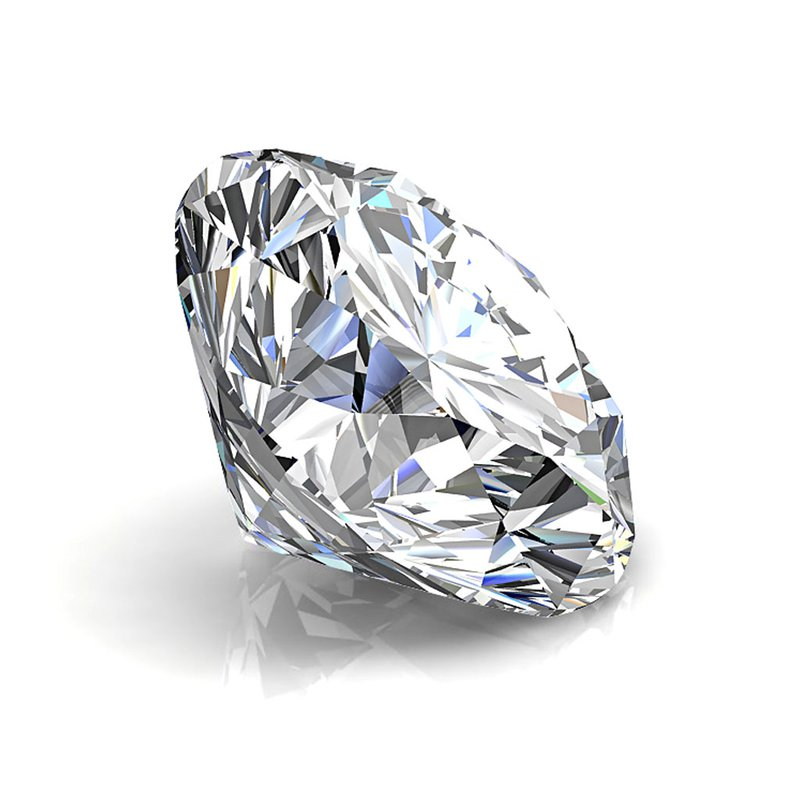 Simon G SOLD!- 18k White Gold with 1.01 carat Lab Grown Mann Made® Diamond Included