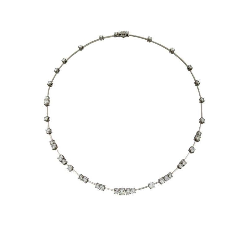 Lasker Diamond Fashion Starry Night Astra Necklace