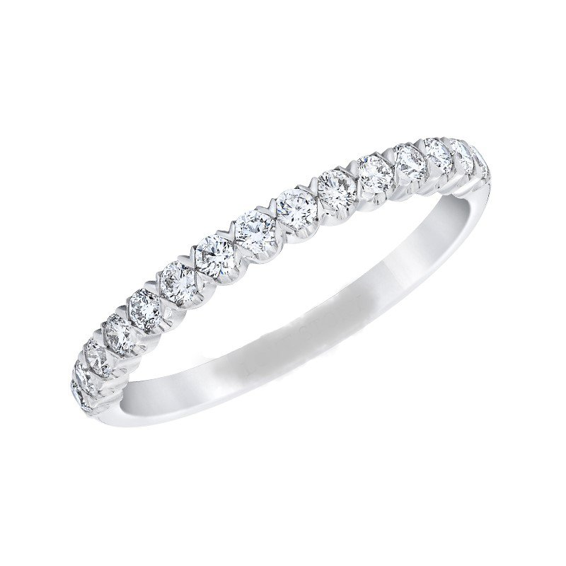 Lasker Bridal X's and O's Stackable - .75ctw