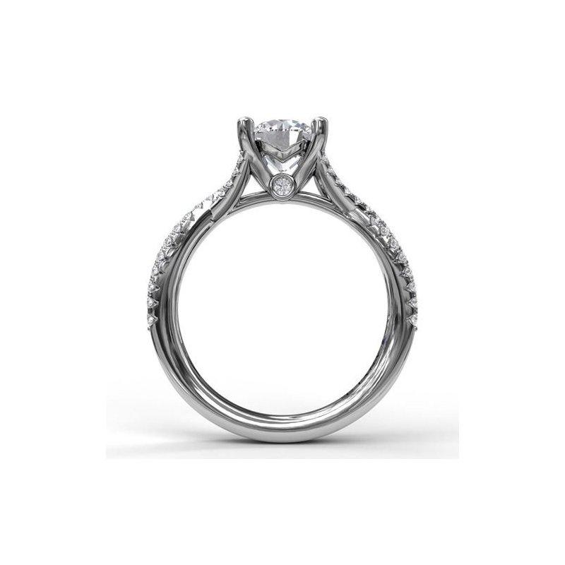 Fana Twisting Diamond Ring