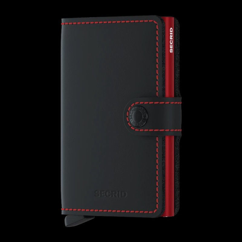 Lasker Signature Matte Black-Red
