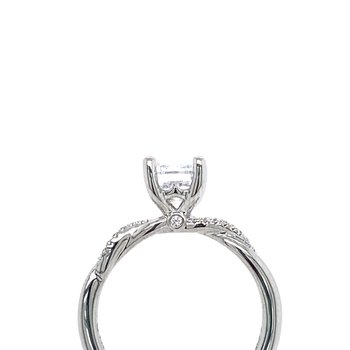 Simple Twist Ring Setting