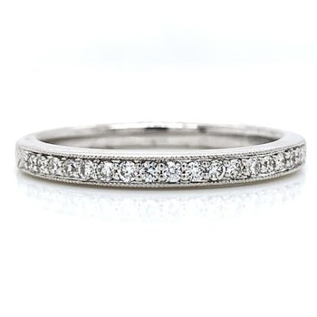 Miligrain Edge Diamond band
