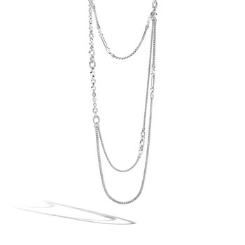 Classic Chain Silver Necklace