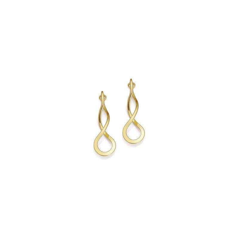 E.L. Designs Endless Braid Earrings- Small