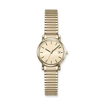 Lasker Gold-Toned Flex Band Timepiece