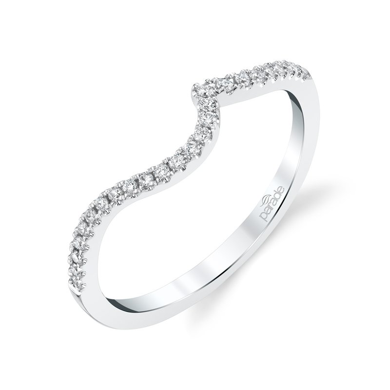 Lasker Bridal Curved Matching Diamond Band
