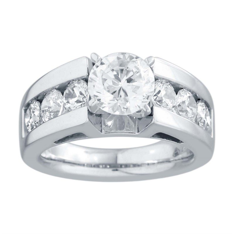 Lasker Bridal 7.5mm Cathedral Ring Mounting