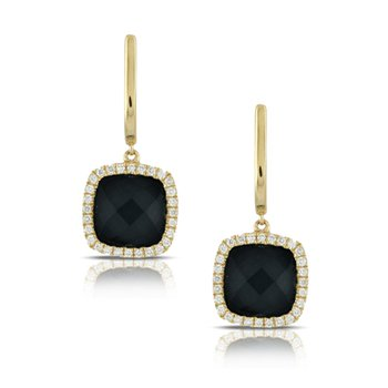 Black Onyx Gatsby Earrings