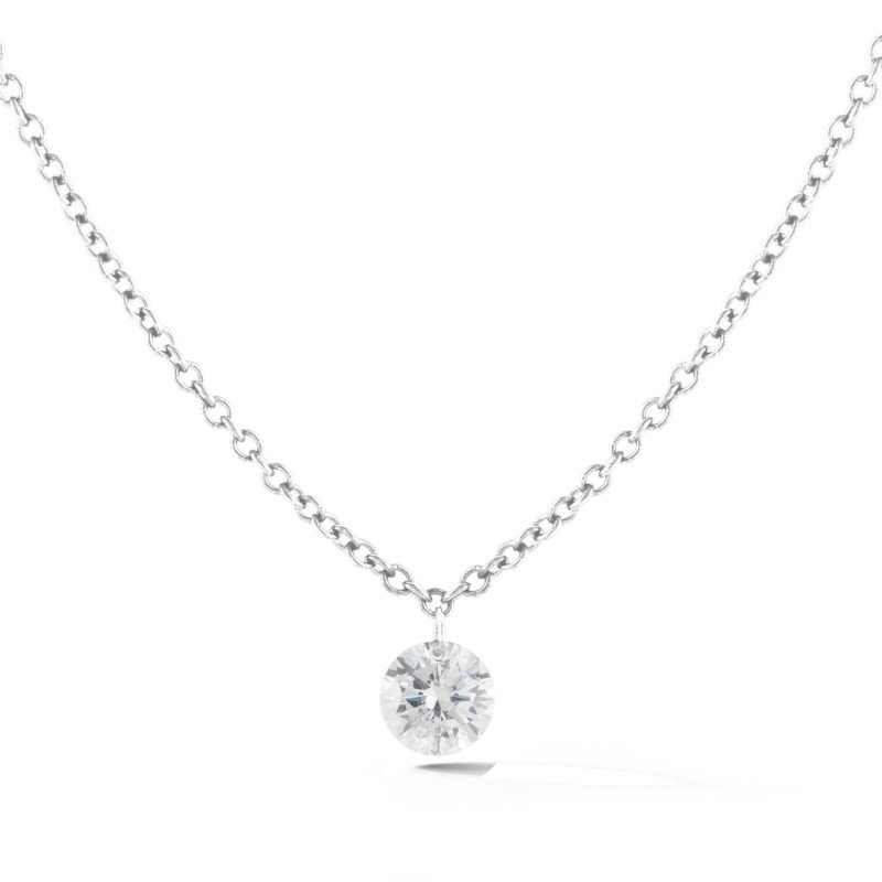 Lasker Diamond Fashion AERO Diamond Solitaire Pendant - .25ct