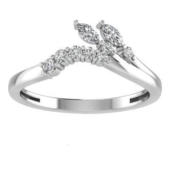 TiaraTwo-Branch Ring