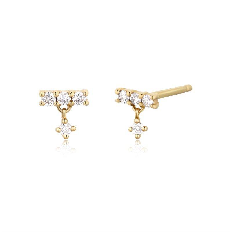 Aurelie Gi Diana Dangling Diamond Studs