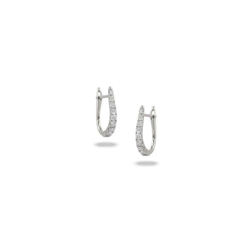 Lasker Diamond Fashion Diamond Huggie Earrings