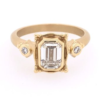 Megan Thorne Picture Frame Ring - 1.01ct Emerald-Cut