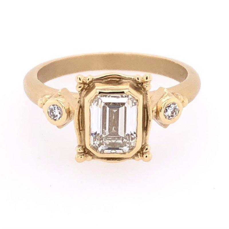 Megan Thorne Megan Thorne Picture Frame Ring - 1.01ct Emerald-Cut