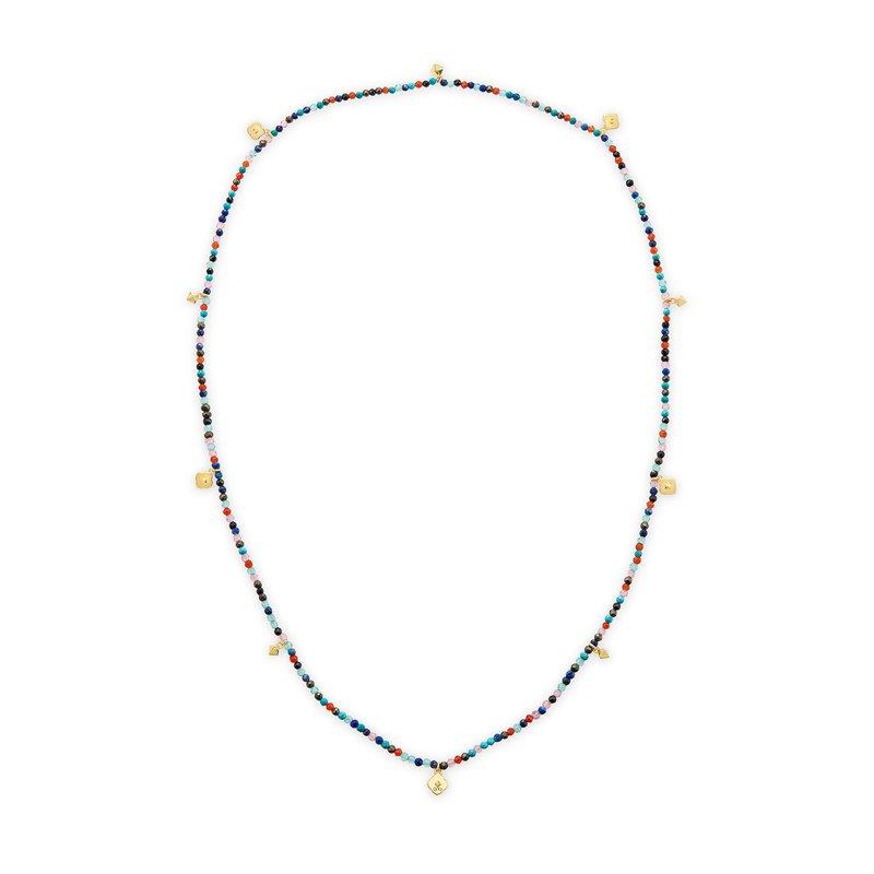Kendra Scott Kendra Scott Britt Convertible Stretch Necklace Yellow Multi Mix