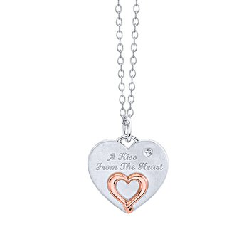A Kiss From the Heart Pendant