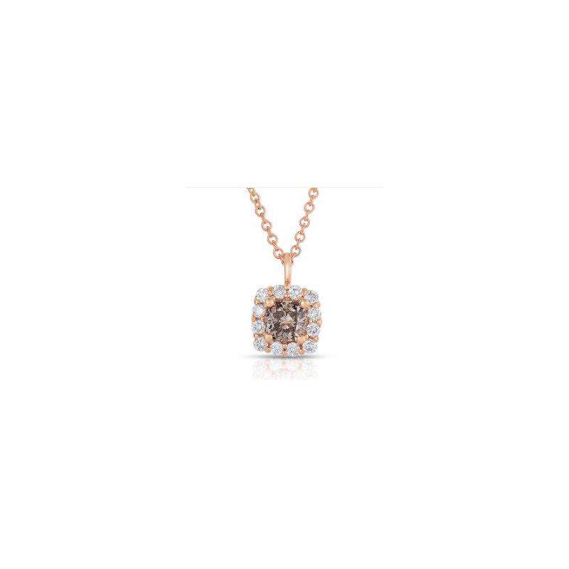 Lasker Diamond Fashion Center Of my World Cognac Diamond Pendant