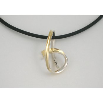 Knot Pendant on Cord