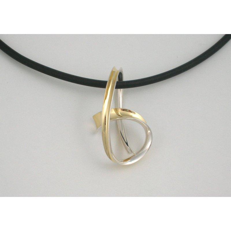 Nancy Linkin Knot Pendant on Cord