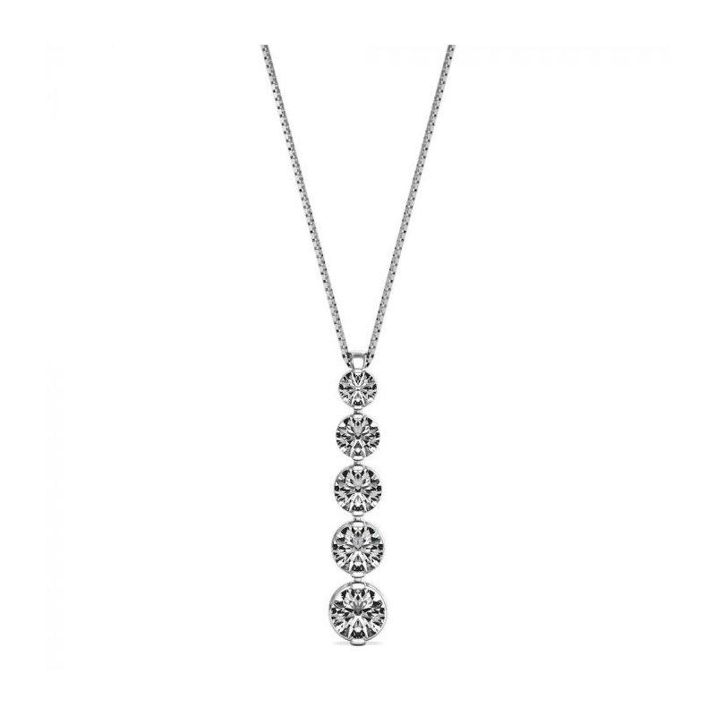 Lasker Diamond Fashion Journey Pendant - 1CTTW