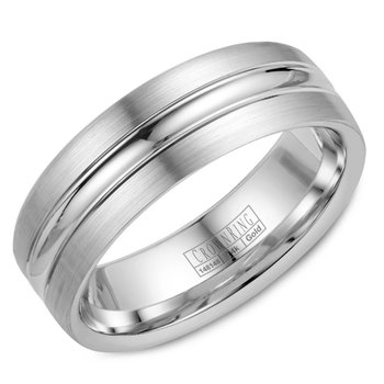 Lite Three-Sectioned Wedding Band