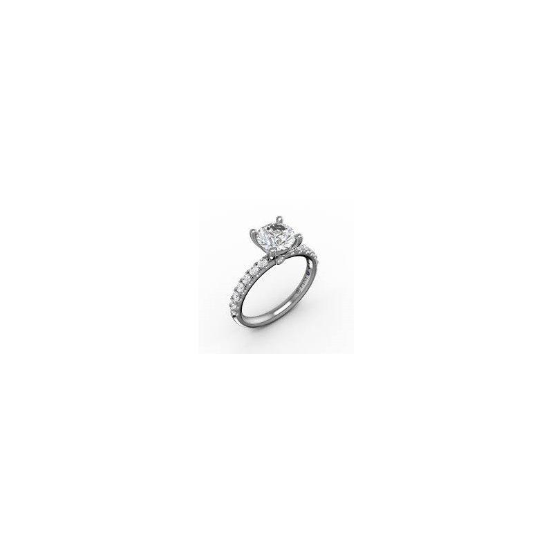 Fana Petite Engagement Ring Mounting