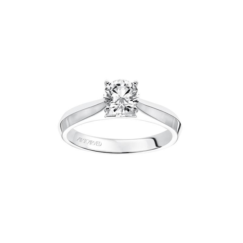 Lasker Bridal Tapered Solitaire Ring