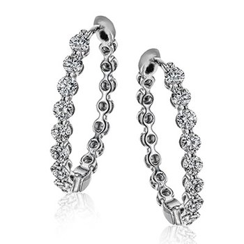 Modern Enchantment Hoop Earrings