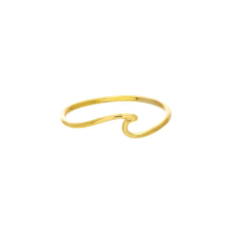 Lasker Gold Fashion Fancy Wave Ring
