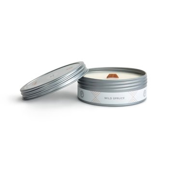 Wild Spruce Travel Candle