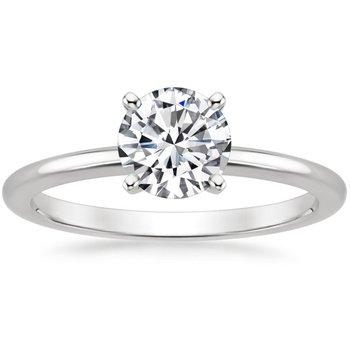 Solitaire Diamond Ring - .96ct Round